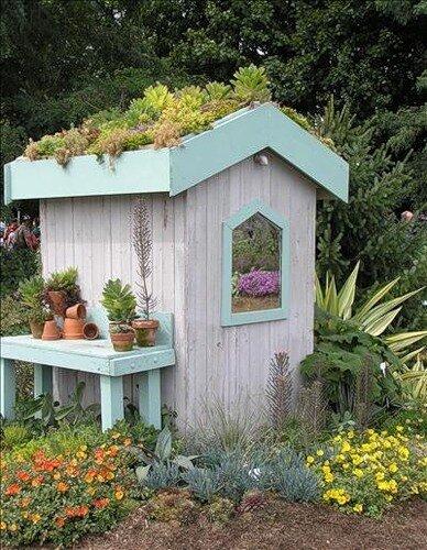 Каким сделать свой дачный дом, как украсить его собственными руками.