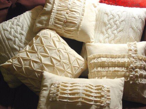 Буфы подушки своими руками