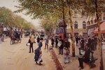 """Boulevard des capucinesOil on canvas73 x 50.8 cm(28.74"""" x 20"""")Private collection"""