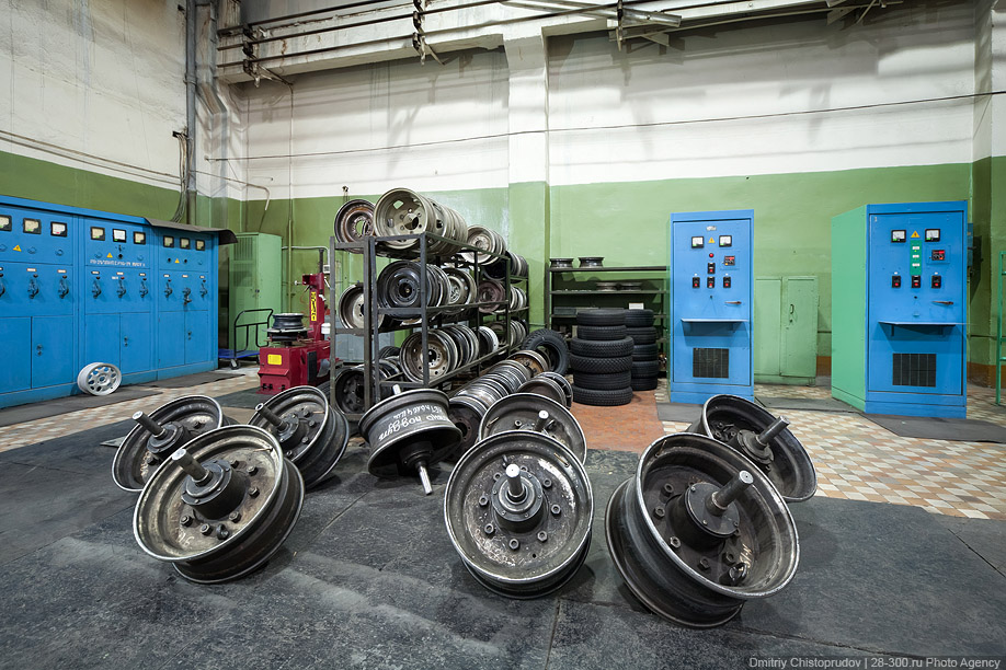 Как производят шины для машины