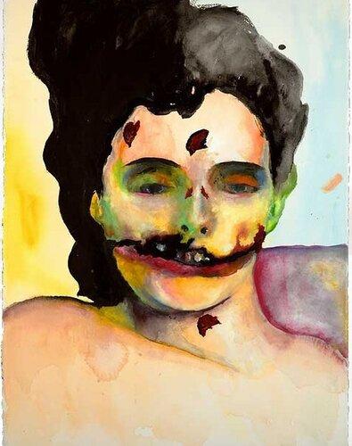 Картины Мэнсона по печально известному делу Чёрный Георгин (Black Dahlia)
