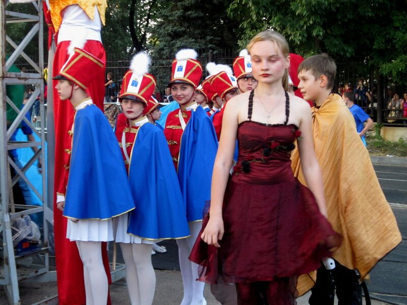 Празднование дня города Саратова на стадионе 'Динамо'