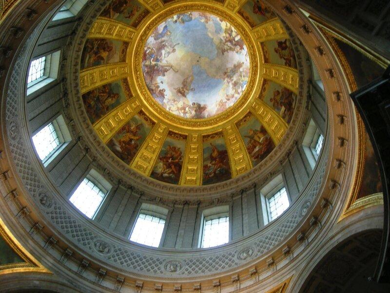 Париж, собор Инвалидов. Купол