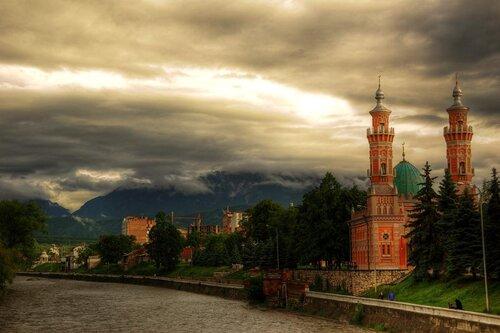 Мечети Мира.Мечети Осетии.Мечеть г.Владикавказ.