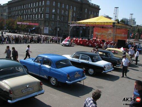 5 сентября 2010 | Ретро-пробег в честь дня города Волгограда (421 год)