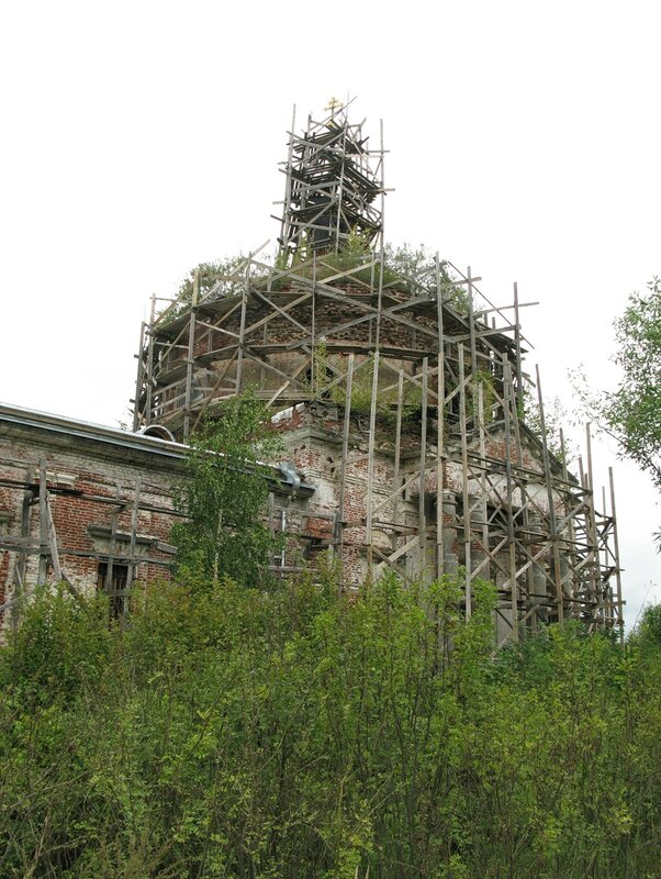 Церковь Михаила Архангела Архангельского погоста, в которой 20 августа 1863 г. крестили С.М.Прокудина-Горского