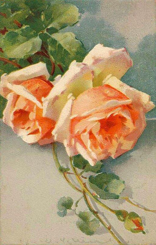 К. Кляйн. 41. Розы.