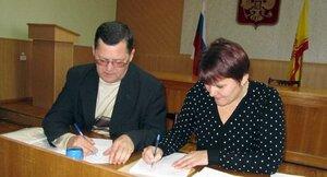 подписание Соглашения в Алатырском районе Чувашии