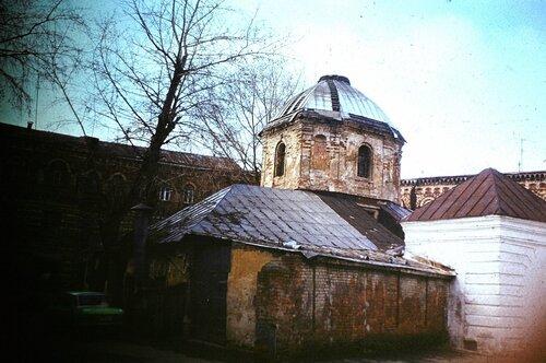 Храм Сергия Радонежского, что в Крапивниках