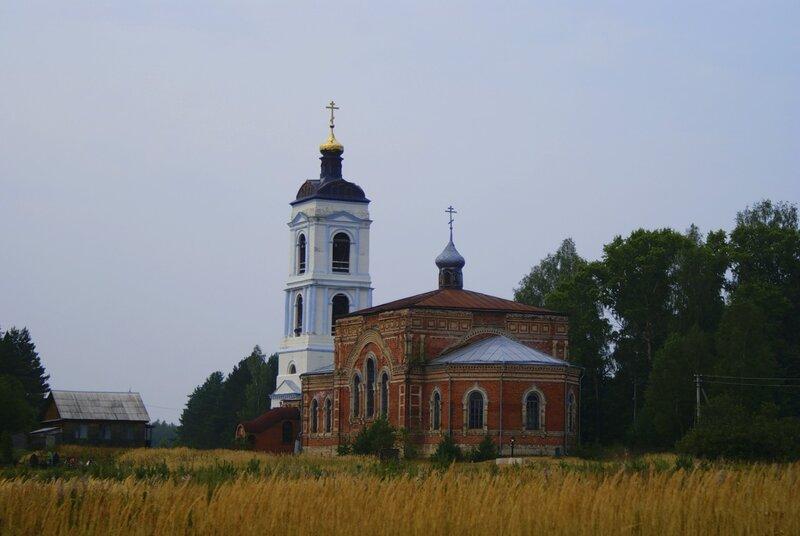 Церковь Покровская в Яковлево