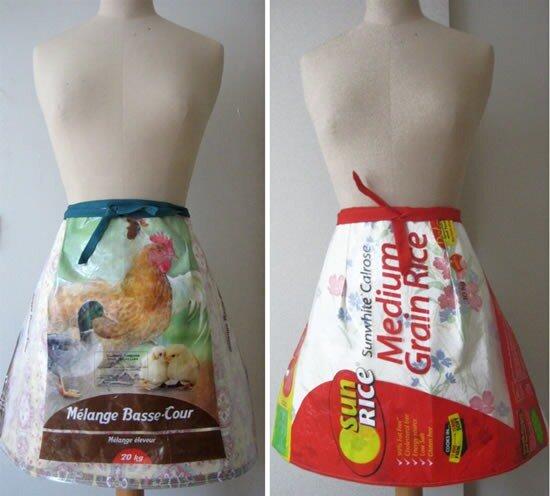 одежда из мусора