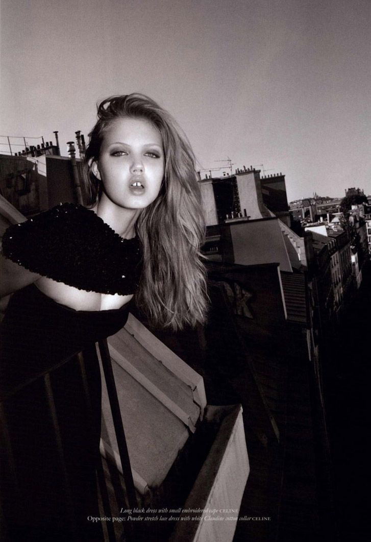 Линдси Виксон / Lindsey Wixson by Olivier Zahm for Purple Fashion
