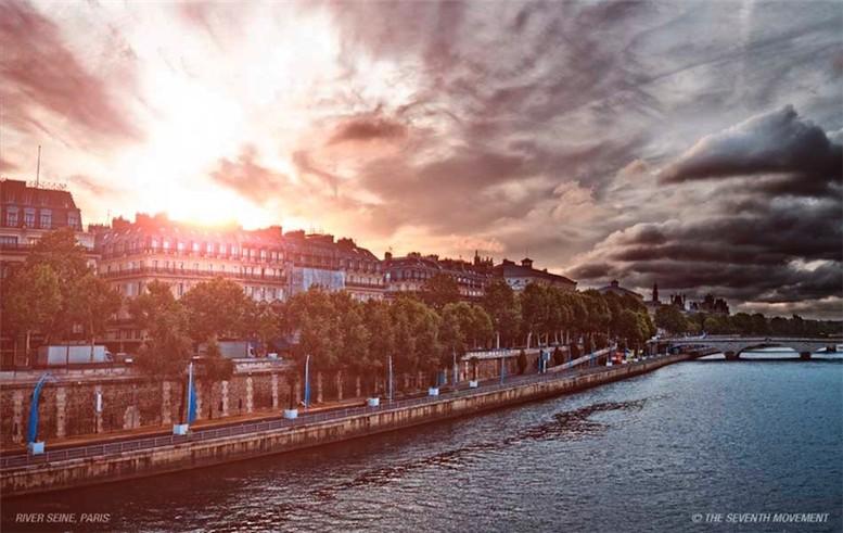 paris / париж от рассвета до заката за 20 минут