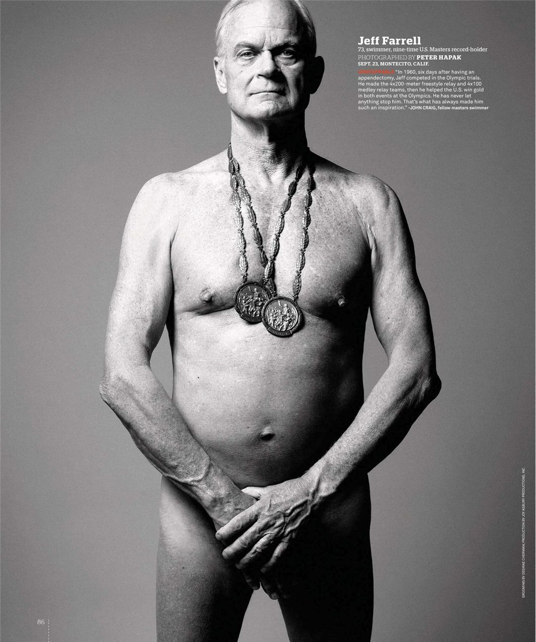 Джефф Фаррелл / Jeff Farrell - ESPN Magazine Body Issue 18 october 2010