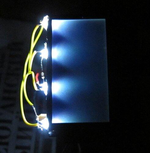Подсветка для дисплея своими руками