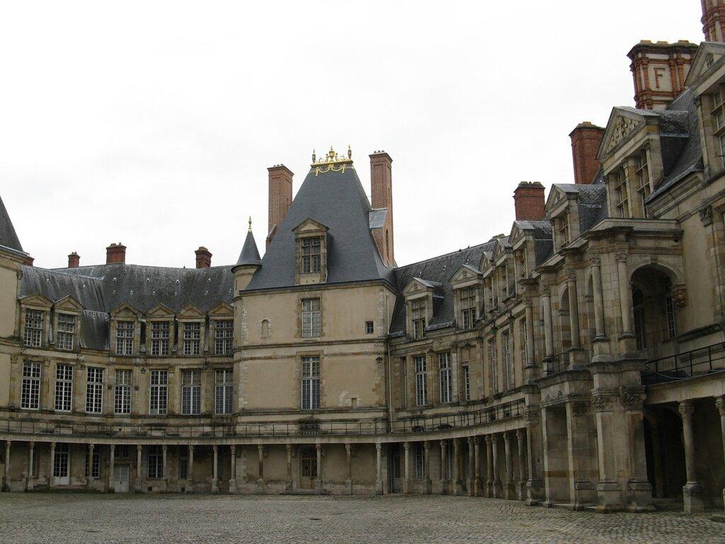 Дворец Фонтенбло (Château de Fontainebleau)