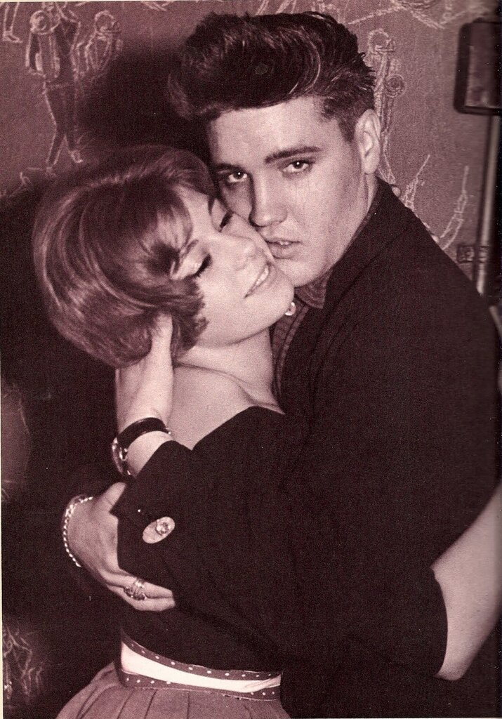 Elvis on leave from the army in Paris, early 1959