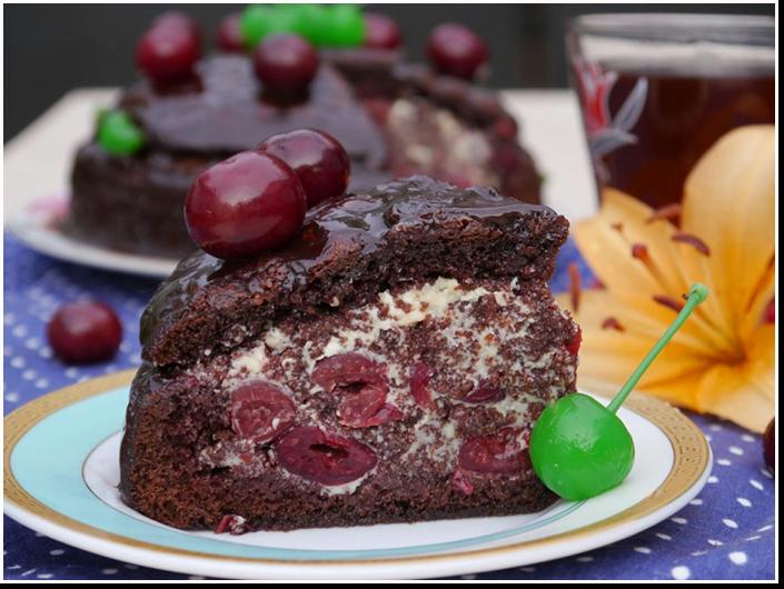 торт смаковница с фруктами рецепт