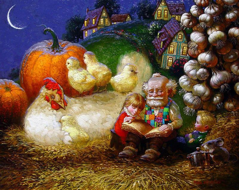 Сказочная живопись Виктора Низовцева (43).jpg