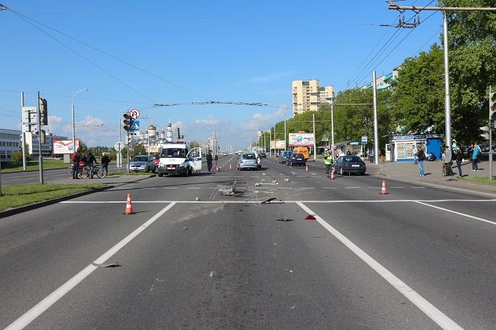 По факту ДТП на ул. Московской возбуждено уголовное дело