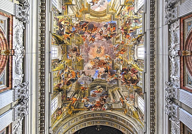 10 головокружительных снимков красивейших базилик Рима