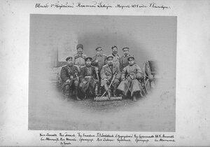 Штаб 3 Гвардейской Пехотной Дивизии. 1878 год.