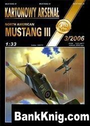 North American Mustang III -Halinski Kartonowy Arsenal (3`2006) jpg