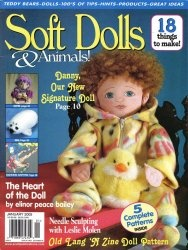 Журнал Soft dolls & animals 2005/Jan