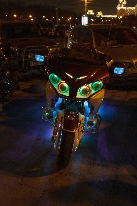 Мотоцикл, Воробьевы горы