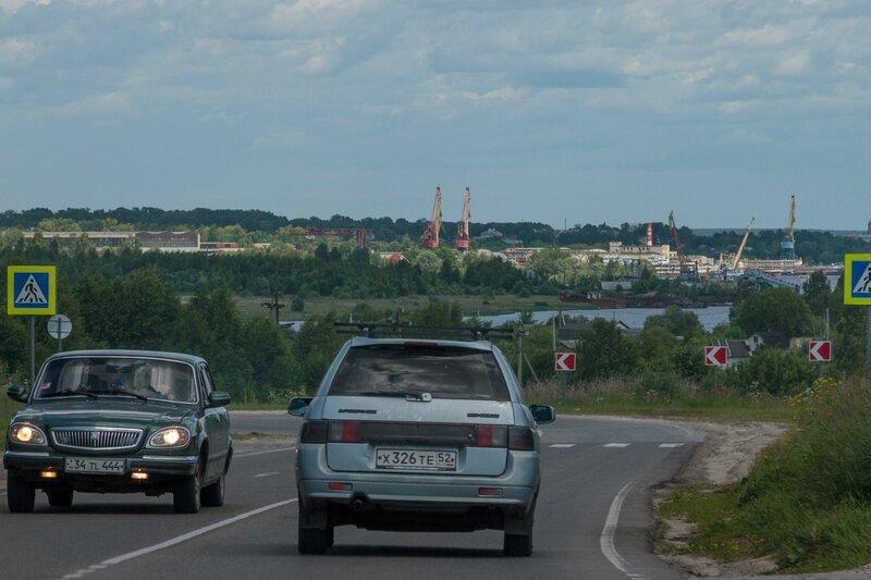 Едем в сторону Чкаловска