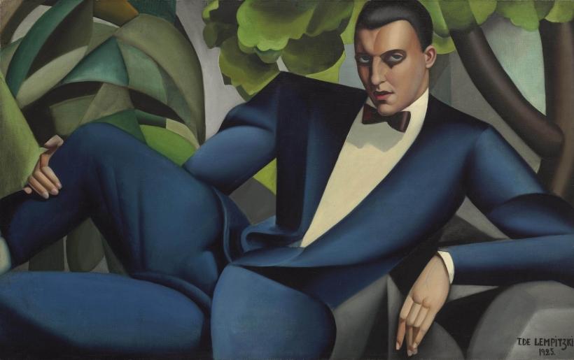 Портрет маркиза д'Аффлито<br ></img>Тамара де Лемпицка · 1925