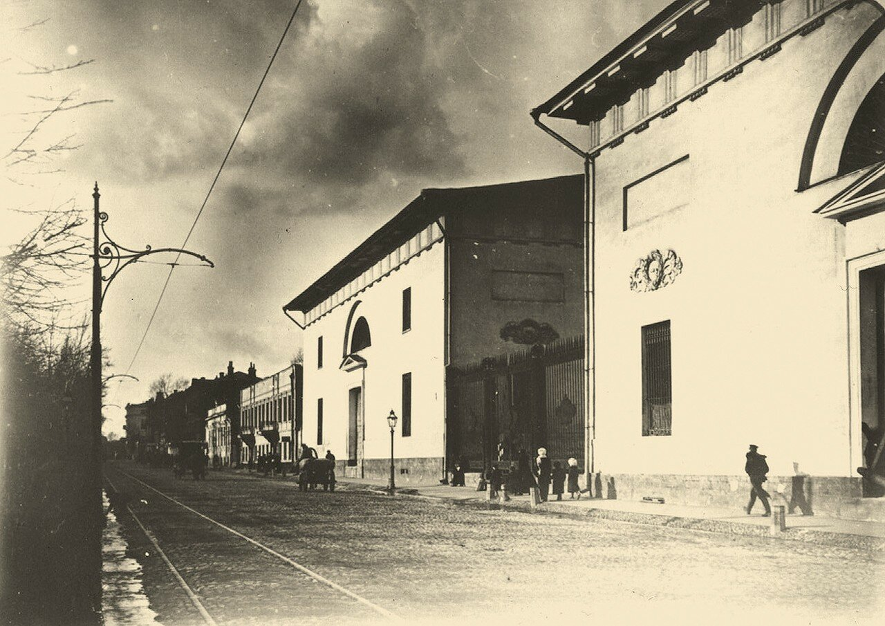 266. Зубовский бульвар. Провиантские склады.1913