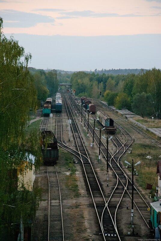 железная дорога саров