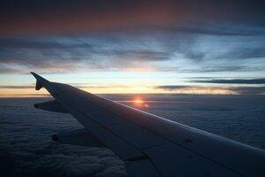 Закат над Шотландией