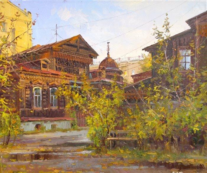 Ефремов А.В. Осень в старом дворе. Екатеринбург