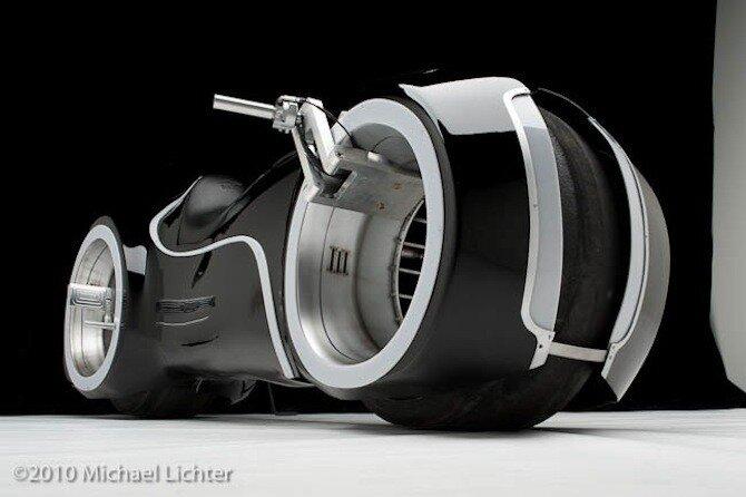 Tron Light Cycle - фантастический байк стал реальным. Фото/Инфо/Видео