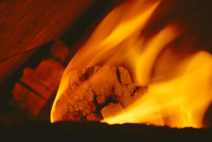 лица в огне фото