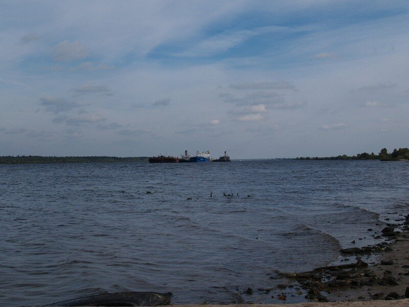 Волга в Сопелках