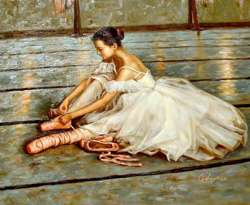 Онлайн балерины подсмотренное