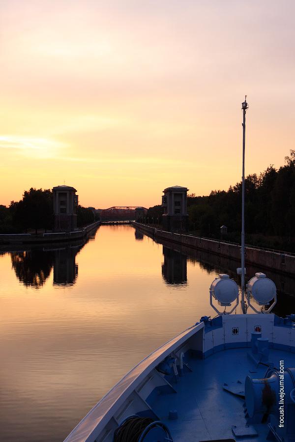 Шлюз №4 канала имени Москвы