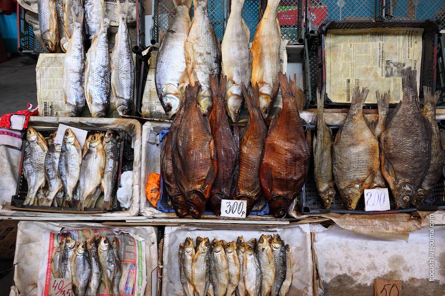 Рыбный рынок Астрахани