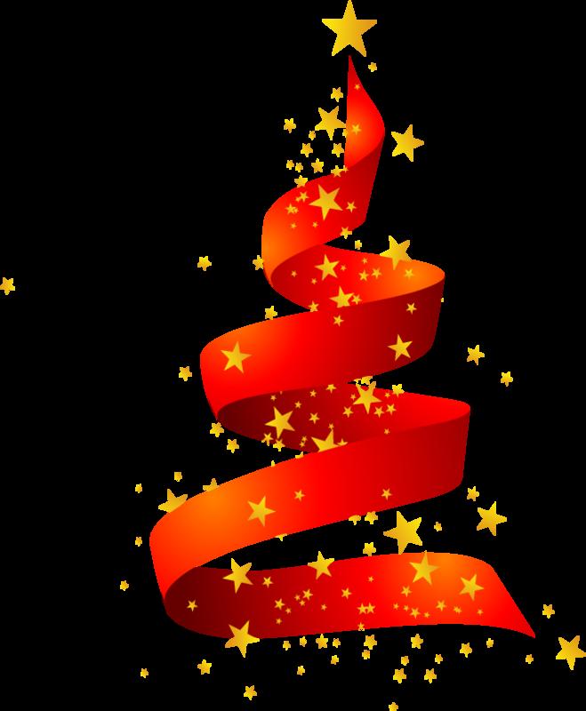 Клипарт Новогодний -Ёлки