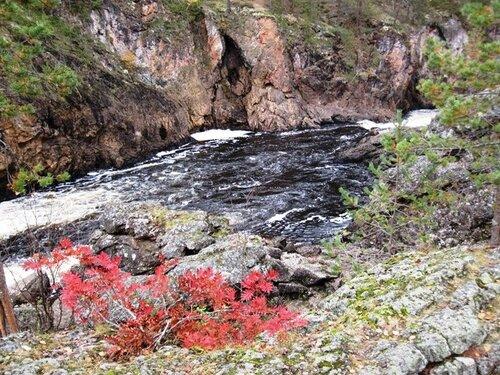 Водопады реки Оуланка