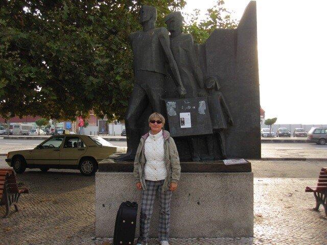 Памятник эмигрантам в Лиссабоне