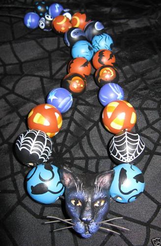Бусы Хеллоуин