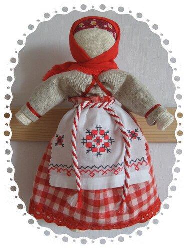 Славянские куклы-обереги МНОГО