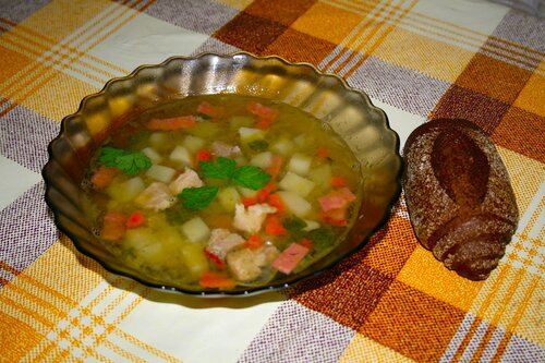 Гороховый суп 4