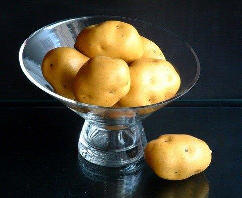 Сырой картофель от ран