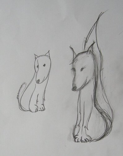 Э... Собаки?