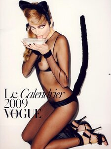 French Vogue 2009 calendar by Terry Richardson